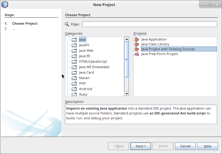 Greenfoot | Running Scenarios in Netbeans