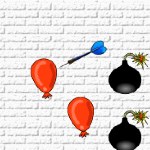 play balloons