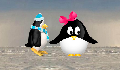 play Pinguin, a love story