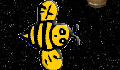 play Space Bee Swarm
