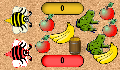 play Fruity Bees