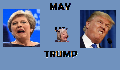 play May VS Trump